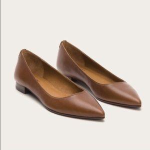 Frye Sienna leather ballet flats